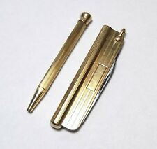 COOL Rare Vintage CARTIER 14k Gold Multi-Tool File Removable Pencil Pocket Knife
