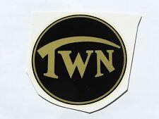 Triumph TWN Schriftzug Abziehbild Wasserabziehbild 72802T 71mm schwarz/gold
