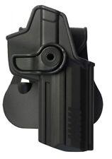 Z1220 IMI Defense roto Funda de Mano Derecha Negro para Koch 45/45C - u Heckler &