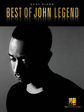 BEST OF JOHN LEGEND EASY PIANO SHEET MUSIC SONG BOOK