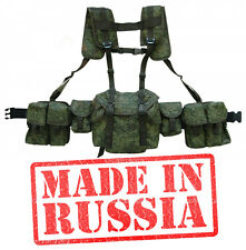 Russian army pixel backpack pouch Vest military paintball airsoft chest rig AK