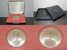 1976 Montreal Olympic Participation Medal + 2 CASE s : Very RARE!!