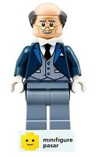 sh313 Lego The Batman Movie 70909 - Alfred Pennyworth Minifigure - New