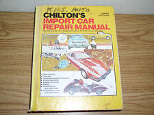 VINTAGE CHILTON'S IMPORT CAR REPAIR MANUAL FOR 1973-1979 CARS AND LIGHT TRUCKS