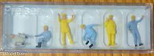 Preiser HO #14128 People Working -- Crane Personnel (Hand Painted)