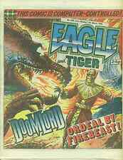 EAGLE & TIGER #208 British comic book March 15, 1986 Dan Dare VG+