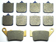 Brake Pads For BMW Brakes S1000 S 1000 RR 2010 Front Rear Free Shipping Sintered