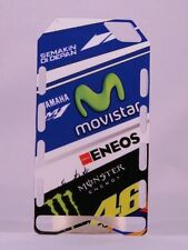 "MINICHAMPS V.ROSSI PITBOARDS TEAM YAMAHA MOVISTAR ""MOTO GP 2015"" SCALA 1/12 NEW"