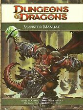 Dungeons & Dragons-D&D-MONSTER MANUAL-CORE RULEBOOK-RPG-(HC)-engl.-new-very rare