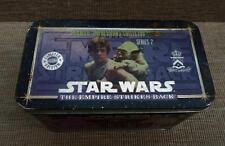 STAR WARS 1994 Metallic Images 20 Empire Strikes cards Box tin set + Coa trading