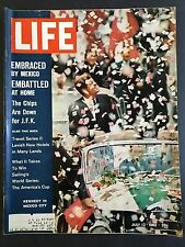 Life Magazine July 13 1962 Kennedy in Mexico City