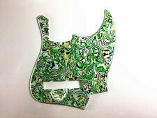 4PLY PICKGUARD FOR FENDER JAZZ BASS WITH GREEN PEARL