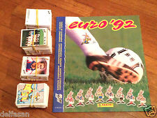 Album figurine Panini EURO 92 COMPLETE STICKERS SET 1992 wc wm World cup NEW