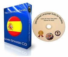 LEARN TO SPEAK SPANISH BASIC LANGUAGE TRAINING COURSE PC DVD NEW + WINDOWS 10