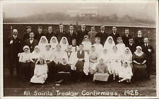 Trealaw. All Saints Confirmees 1925 by L. Ladd, Ton-y-pandy.