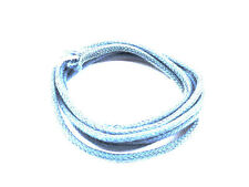 Blue Cloth Covered Wire Solid Core (1m)