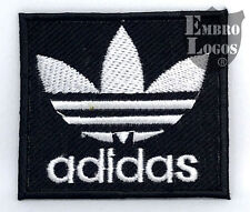 #10766  ADIDAS LOGO EMBROIDED IRON ON PATCH - BADGE