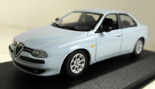 Minichamps 1/43 Scale 430 120704 Alfa Romeo 156 Saloon 97 blue diecast model car