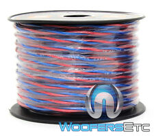 TRUE 16 GAUGE 100 FT SPOOL HIGH DEFINITION TWISTED SPEAKER CAR HOME MARINE WIRE