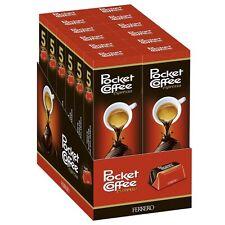 12x Ferrero Pocket Coffee 5 piece box - Total 744g