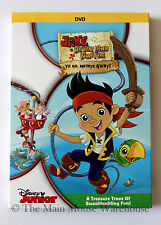Jake and Neverland Pirates Season 1 V1 Yo Ho Mateys Away! DVD 7 Episodes + Bonus