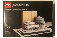 Lego Architecture Solomon R. Guggenheim Museum NYC™ Model 21004 1st Edition