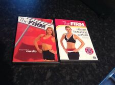 Two The Firm Fitness DVD's - Express Cardio & Ultimate Fat Burning Workout