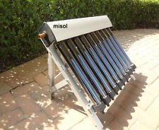 misol / Solar Collector of Solar Hot Water Heater 10 Evacuated Tubes vacuum tube