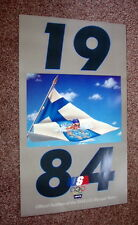 """1984 Levi's Original OLYMPICS Swimming Poster Finland 22"""" x 37"""" New Condition"""