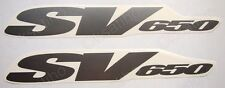 SUZUKI SV650 FAIRING DECALS STICKERS TANK BIKE MOTORCYCLE (735)