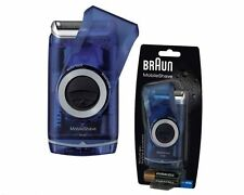 Braun M60b Mens Mobile Shave Travel Pocket Battery Foil Razor Shaver Timmer New
