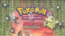 POKEMON NEO 2 DISCOVERY PRE-CON THEME DECK BOX BLOWOUT CARDS