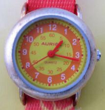 Enfants-quartz-montre * Flik * ORANGE/papillon * environ * Auriol * NOUVEAU * OVP *