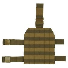 COYOTE BROWN MOLLE MODULAR FULL SIZE CLASP DROP LEG PANEL - 10 x 8.75""