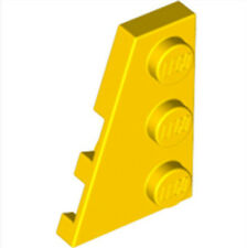 LEGO  Left Plate 2x3 W/angle (43723)_ Bright Yellow  _4179095(Lot of 1)