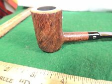 UNSMOKED JUST FABULOUS STANWELL PERFECTLY BORED POKER SITTER BRUSHED BOWL