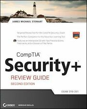 CompTIA Security+ Review Guide : Exam SY0-301 by James M. Stewart (2011, Paperba