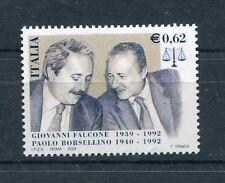 Italia 2002 10° anniversario della strage di Capaci Mnh