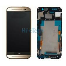 OEM HTC ONE M8 831c Replacement Touch LCD Display Screen Digitizer Part Golden