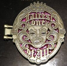 Disney Fairest One Of All Snow White Evil Queen Locket Mirror Hinged Pin
