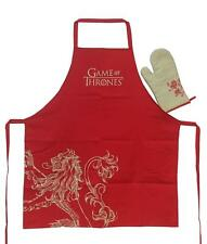 Game of Thrones Lannister Apron & Oven Glove Set in Jar SD Toys