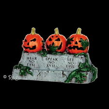 *EVIL PUMPKINS* Spooky Town Resin Halloween Figurine By Lemax (5.5cm)