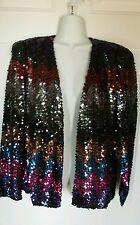 Vintage Multicolor  Sequin Jacket