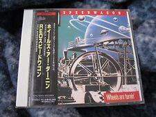 "REO SPEEDWAGON ""WHEELS ARE TURNING"" JAPAN CD EPIC/SONY WITH OBI"