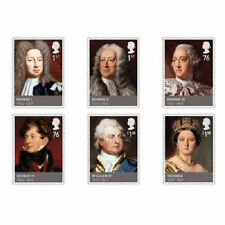 UK The House of Hanover Stamp Set MNH 2011