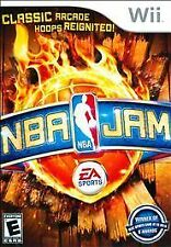 Nintendo Wii Game NBA JAM - No Manual