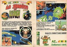 Pubblicità Advertising 1991 AZ JUNIOR - La sconfitta di Karien 4° parte comic
