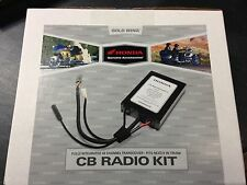 NEW GENUINE OEM 01-10 HONDA GL1800 GOLDWING CB RADIO KIT 08E95-MCA-100A
