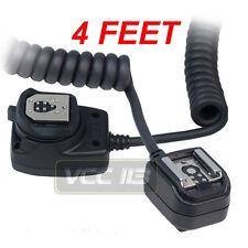 Off Shoe Flash Cord for Canon OC-E3,430EX,430EX II,480EG 550EX 580EX 580EX