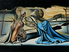 Salvador Dali Tristan and Isolde print canvas reproduction giclee 16X12